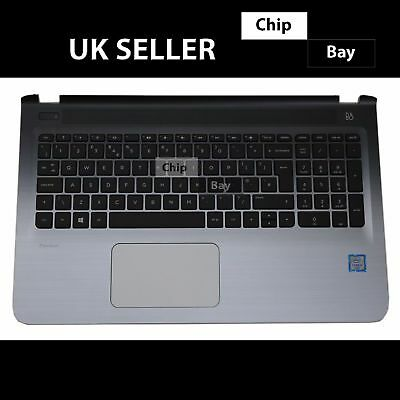 Hp 15-ab Series Palmrest & Keyboard Top Chassis Cover Eax15003010 • 53.99£