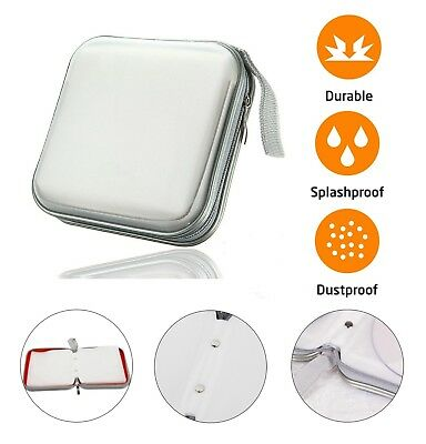 CD DVD Carry Case Disc Storage Holder CD Sleeve Wallet Ideal For Car SILVER • 3.95£