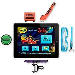 Griffin GC35976 Crayola Digitools Ultra IPad Accessory Pack Drawing 3D Glasses • 17.49£