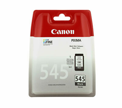 CANON PG-545 Black Ink Cartridge - Currys • 15.99£
