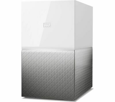 WD My Cloud Home Duo NAS Drive - 6 TB, White - Currys • 319£