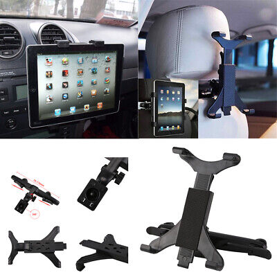 Universal Headrest Seat Car Holder Mount For Apple IPad, Galaxy Android Tablets • 4.99£
