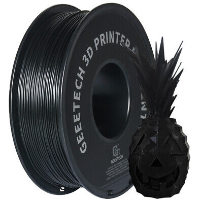 GEEETECH PLA  Filament 1.75mm 1kg Black For 3D Printer Sent From UK! • 16.90£