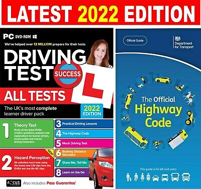 Driving Theory Test & Hazard + Highway Code Book. 2020 Latest Edition.**NEW** • 8.99£