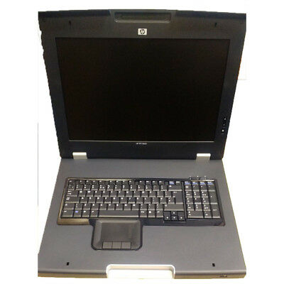 HP G1 TFT7600 Rackmount UK Keyboard And Monitor AG053A 406499-031 • 109£