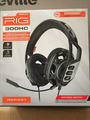 PLANTRONICS RIG 300 HC GAMING HEADSET FOR NINTENDO SWITCH, PS4, Xbox, PC • 18.75£
