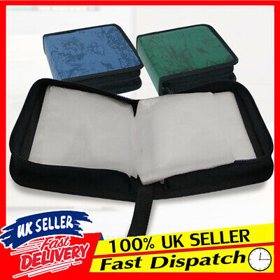 CD DVD Large Capacity Package Portable Holder Discs Wallet Bags Storage Cases • 3.97£