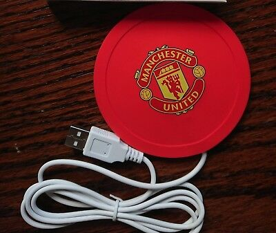Manchester United Fc Usb Cup Warmer Man U • 1.95£