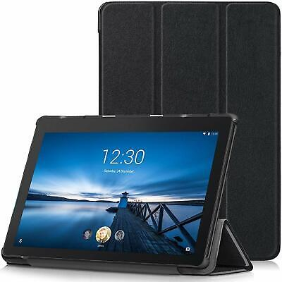 For Lenovo TAB E10 Case Premium Smart Book Stand Cover (TB-X104F) • 7.99£