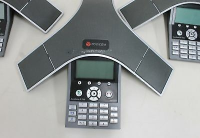 POLYCOM SoundStation IP 7000 SIP VoIP Conference Telephone With Power - Grade B • 89.99£