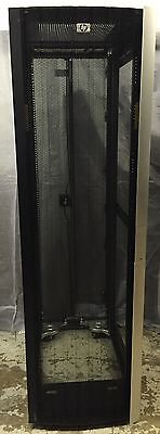 HP 10642 G2 42U Server Rack Cabinet Enclosure With Front & Back Doors 383573-001 • 379£