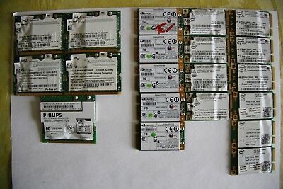 Assorted 22 Atheros, Intel, Asus WiFi Interface Cards • 28£