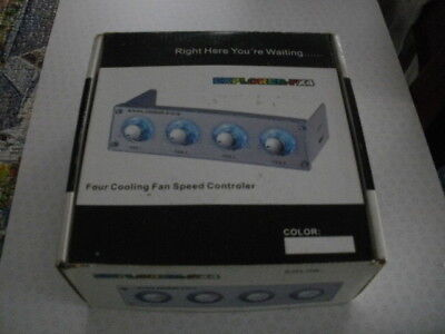 Four Cooling Fan Speed Controller • 40£