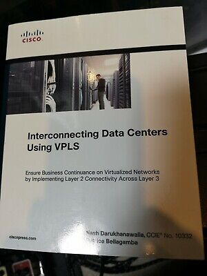 Interconnecting Data Centers Using VPLS Cisco CCIE Service Provider • 25.99£
