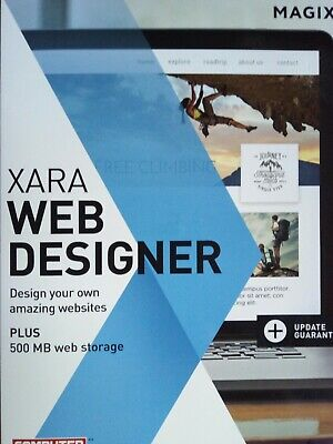 Xara Web Designer - Brand New Boxed And Sealed Unlimited Easy Website Creation  • 17.25£