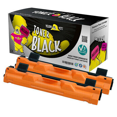 2x Toner Fits Brother TN1050 HL-1112R HL-1210W HL-1212W MFC-1810 • 9.99£