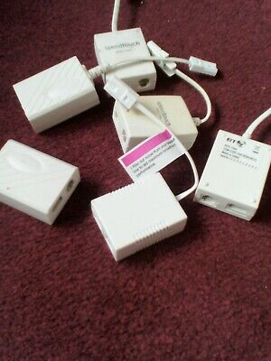 *new* 13 Adsl Filters, Sockets & Telephone Adapters **mixed Lot** • 9.50£