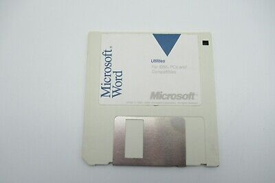 Vintage Microsoft Utilities For Ibm Pcs And Compatibles Floppy Disc Rare • 9.99£