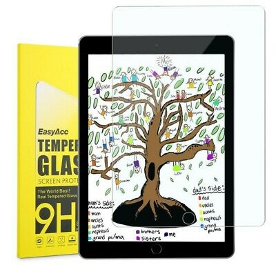 Genuine TEMPERED GLASS Screen Protector For Apple IPad 9.7  6th 5th Generation • 4.25£