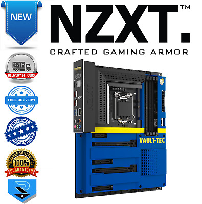 NZXT Z390 Vault Boy Cover Limited Edition Motherboard Cover • 64.33£