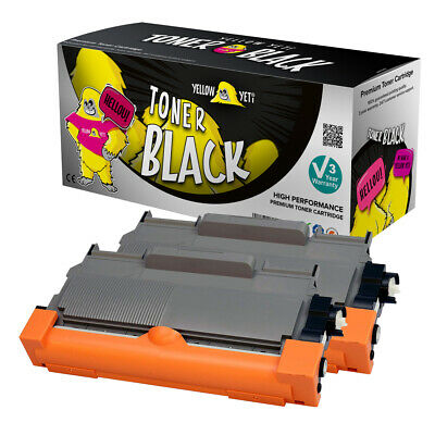 2 X Toner Cartridge Fits Brother TN2010 DCP7055 HL2130 HL2132 DCP7055W HL2135W • 9.99£