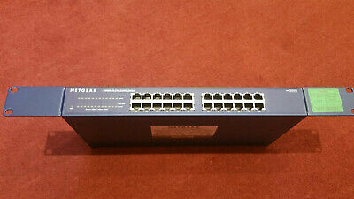 NETGEAR Prosafe JGS524 V2 24 Port Gigabit Ethernet Switch • 55£