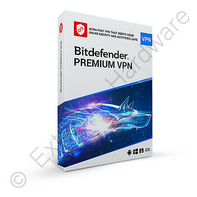 Bitdefender Total Security & VPN Multi Device 2020 / 2021 3 Users 1 Year Licence • 17.50£