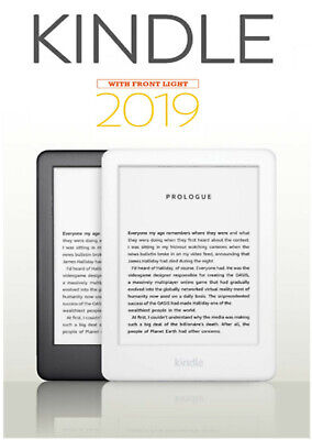 New Amazon Kindle EReader 6  (10th Gen) 4GB, Wi-Fi With Built-in Front Light !! • 69.95£
