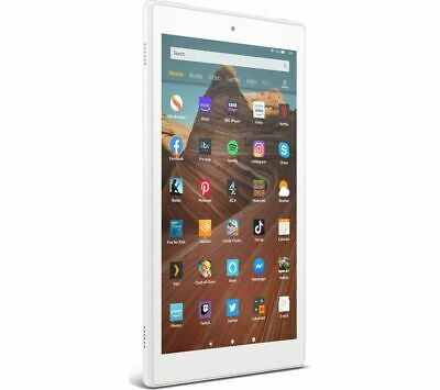 AMAZON Fire HD 10 Tablet (2019) - 32 GB White - Currys • 149£