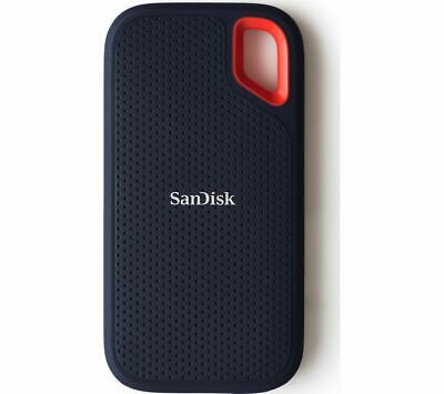 SANDISK Extreme Portable External SSD - 500 GB Black - Currys • 75.99£