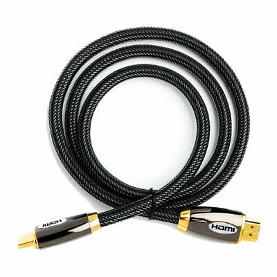 5M Xclio Premium HDMI2.0 Braided (Male) To HDMI (Male) Cable, High Speed Ultra H • 15.84£
