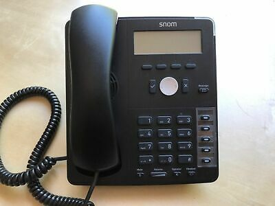 SNOM D710 VoIP/SIP Business Phone - With Optional PSU - Free Delivery • 39.99£