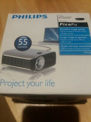 Philips Picopix PPX 2055 LED Pocket Projector USB • 71.99£