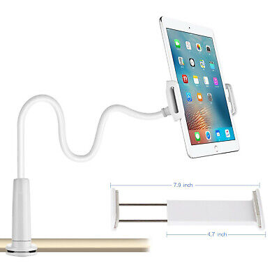 360 Gooseneck Table Bed Clamp Stand Holder Mount For IPad Tablet Flexible Arm UK • 6.99£