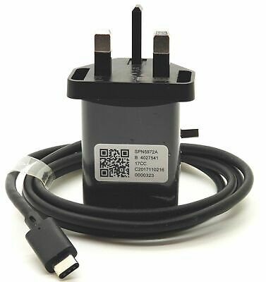 Genuine Motorola Turbo Power 15+ Mains Mobile Charger + Type-C USB Cable • 9.99£