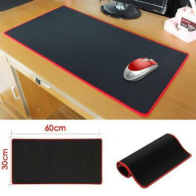 60CM X 30CM EXTRA LARGE XL GAMING MOUSE PAD MAT FOR PC LAPTOP MACBOOK ANTI-SLIP • 6.19£