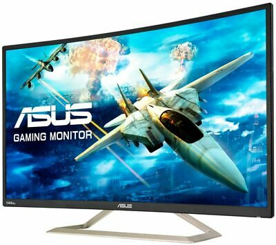 ASUS VA326HR Full HD 32  Curved LED Gaming Monitor - Black - Currys • 199£