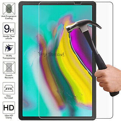 Tempered Glass Screen Protector LCD Clear Guard Film For Samsung Galaxy All Tabs • 3.92£