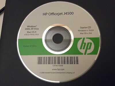Genuine HP Printer Starter CD For OfficeJet J4500 Series Windows 2000 • 2.99£