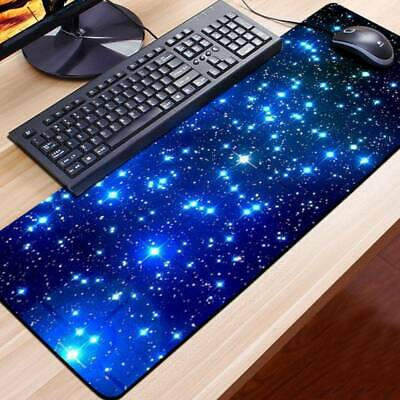 Extended Gaming Large Mouse Pad Galaxy Laptop 600*300mm Big Size Desk Mat UK • 7.25£