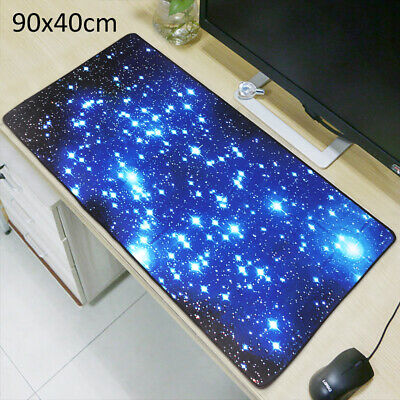 Extra Large Galaxy Gaming Mouse Pad Mat For PC Laptop Anti-Slip 900*400mm • 10.45£