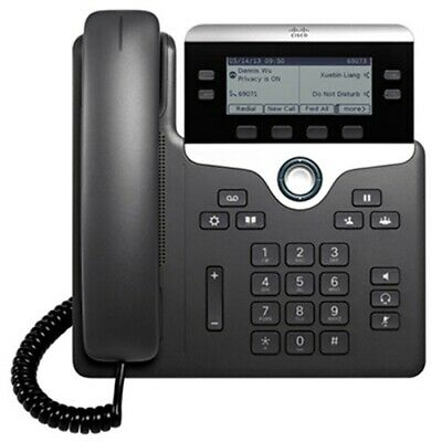 Cisco CP-7821 VoIP Phone For Cisco CCUM Call Manager - With Power Supply • 44.99£