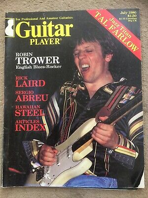 Guitar Player Magazine July 1980 - Tal Farlow / Robin Trower • 10.99£