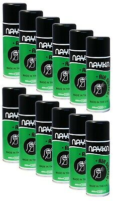 6x Or 12x UK Nayka Compressed Air (400ml) – Duster/Cleaner Spray - CFC/HFC Free • 24.99£