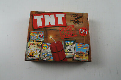 TNT A Domark Game SET For Commodore 64 On Cassette • 7.99£