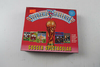 Supreme Challenge Soccer Spectacular For Commodore 64 On Cassette • 7.99£