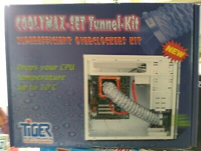 Tiger Electronics Fans - Coolymax-set Tunnel Kit  Overclockers Cooling Kit  • 10£