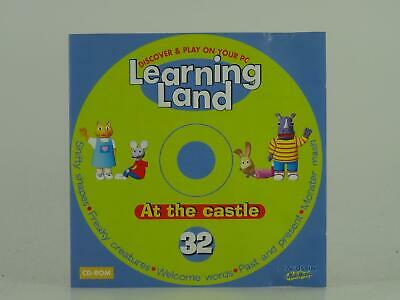 Learning Land At The Castle 32, Deagostini Multimedia, Ex/vg, Computer Software • 3.14£