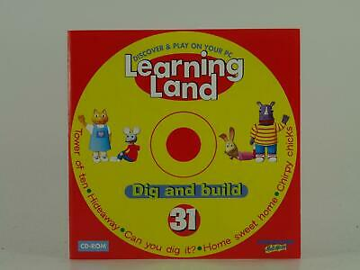 Learning Land Dig And Build 31, Deagostini Multimedia, Ex/vg, Computer Software • 3.14£
