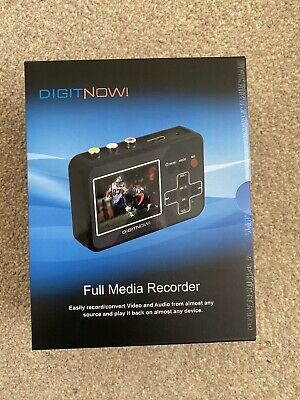 DIGITNOW! IRECORD FULL MEDIA RECORDER BOXED AND COMPLETE • 35.55£